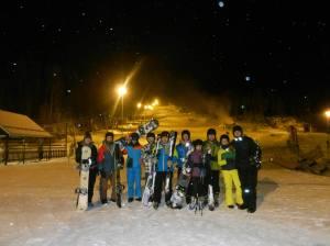 Winter sport school at Laajavuori