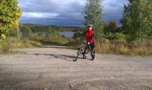 Keen cyclists can enjoy endless routes and trails in Jyväskylä and the region